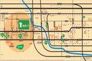 金地格林小城交通图