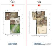 公园19033室2厅1卫125--133平方米户型图