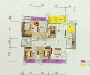时代倾城3室2厅2卫95平方米户型图