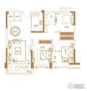安阳碧桂园3室2厅1卫105平方米户型图