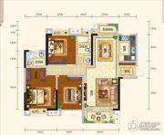城中半岛2室2厅2卫118平方米户型图