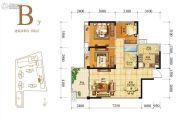 人居天府汇城3室2厅1卫106平方米户型图