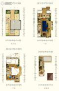 香水湾1号2室2厅2卫241平方米户型图