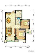 佳源・英伦都市2室2厅1卫94平方米户型图