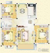 祥育苑3室2厅1卫119平方米户型图