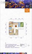 公园壹号3室2厅2卫116平方米户型图