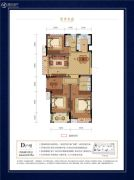 碧秀名庭4室2厅2卫115平方米户型图