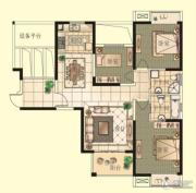 观山名筑3室2厅2卫121平方米户型图