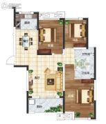 长江国际广场3室3厅2卫117平方米户型图