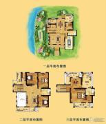 江南一品 别墅340平方米户型图