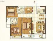 唐宁街1号4室2厅2卫88平方米户型图