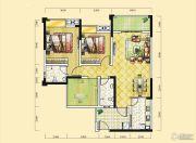 远达天际上城3室2厅2卫105平方米户型图