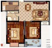 永业梦乐城2室1厅1卫88平方米户型图