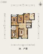 京西・金泰丽湾3室2厅2卫140平方米户型图
