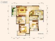 名流印象2室2厅1卫0平方米户型图