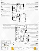 银隆开元名郡4室3厅2卫217平方米户型图