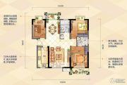 夏商新纪元3室2厅2卫0平方米户型图