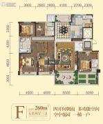 碧桂园・凤凰城5室2厅3卫260平方米户型图