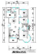君尚一品小区二期2室2厅2卫134平方米户型图