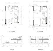 肇庆敏捷城4室3厅2卫103平方米户型图