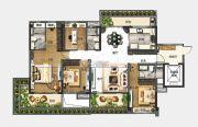 中山碧桂园天玺湾4室2厅3卫175平方米户型图