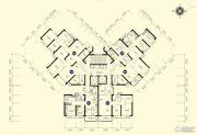 恒大名都3室2厅1卫88--89平方米户型图