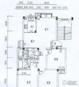 水岸帝景 高层3室2厅2卫105平方米户型图