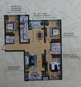 奥北公元3室2厅2卫149平方米户型图