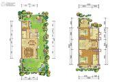 恒大上林苑4室4厅4卫160平方米户型图