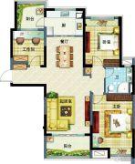 高淳碧桂园3室2厅1卫0平方米户型图
