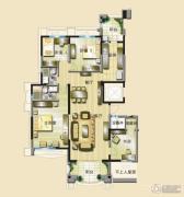 碧桂园凤凰城4室2厅2卫165平方米户型图