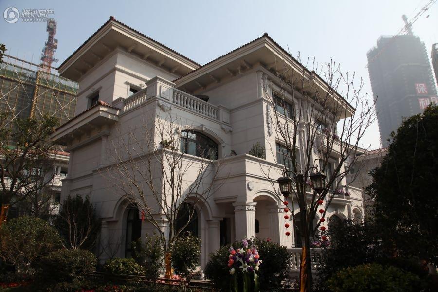 杭州碧桂园别墅样板区实景