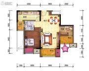 中昂星汇1室1厅1卫0平方米户型图