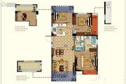 恒威肯特国际社区3室2厅2卫93平方米户型图