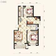 保利・白沙林语3室2厅2卫97平方米户型图