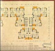仁海・海东国际3室2厅2卫89--130平方米户型图