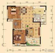 东湖雅居3室2厅1卫95平方米户型图