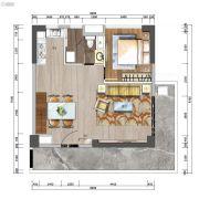 中洲公馆0室0厅0卫84平方米户型图