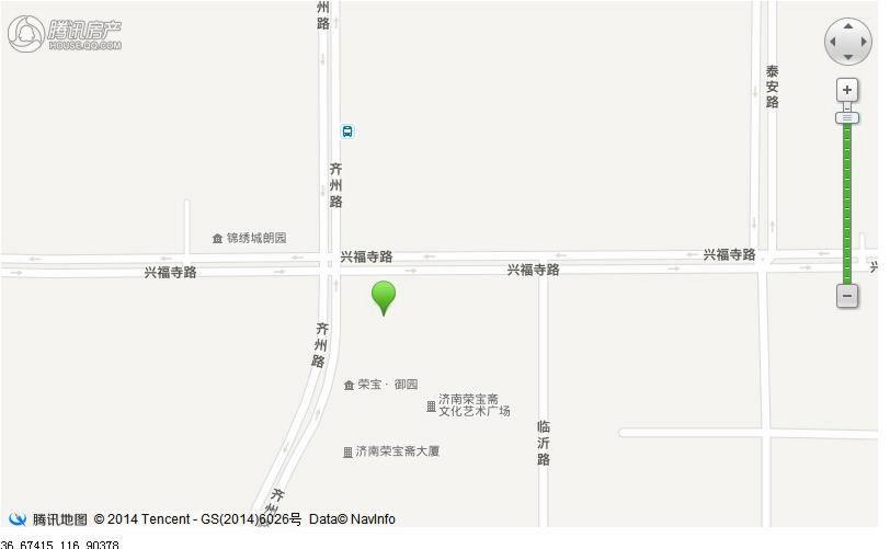 三庆·御园交通图