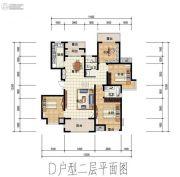 大唐东汇4室2厅2卫0平方米户型图