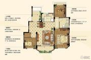 金浦翡翠谷3室2厅1卫99平方米户型图