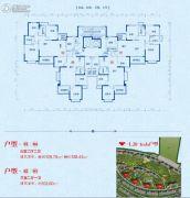 郑州恒大山水城3室2厅2卫103--129平方米户型图