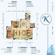 三沙源国际生态文化旅游度假区3室2厅2卫168平方米户型图