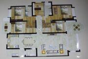 观海居5室2厅3卫217平方米户型图