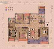 朋鹰・莱茵小镇4室2厅2卫142平方米户型图