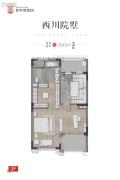 普罗理想国1室0厅0卫280平方米户型图