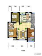 国际花都2室1厅1卫0平方米户型图