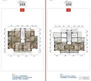 公园19034室2厅3卫217平方米户型图
