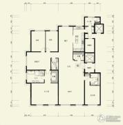 广渠金茂府4室3厅4卫381平方米户型图