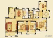 金洋奥澜半岛4室2厅2卫140平方米户型图
